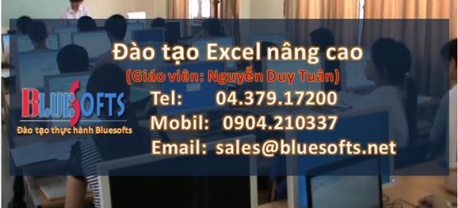Đào Tạo Excel Nâng Cao