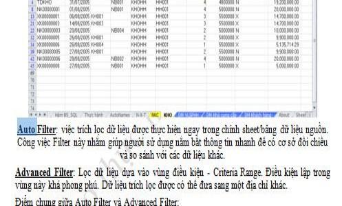 Chia sẻ kỹ thuật lọc dữ liệu nhiều điều kiện trong Excel cùng Add-in A-Tools