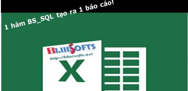Tạo báo cáo động trong Microsoft Excel và Add-in A-Tools